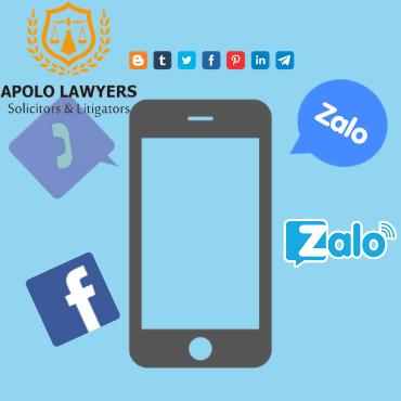 Tư vấn pháp luật trực tuyến qua Zalo và Facebook